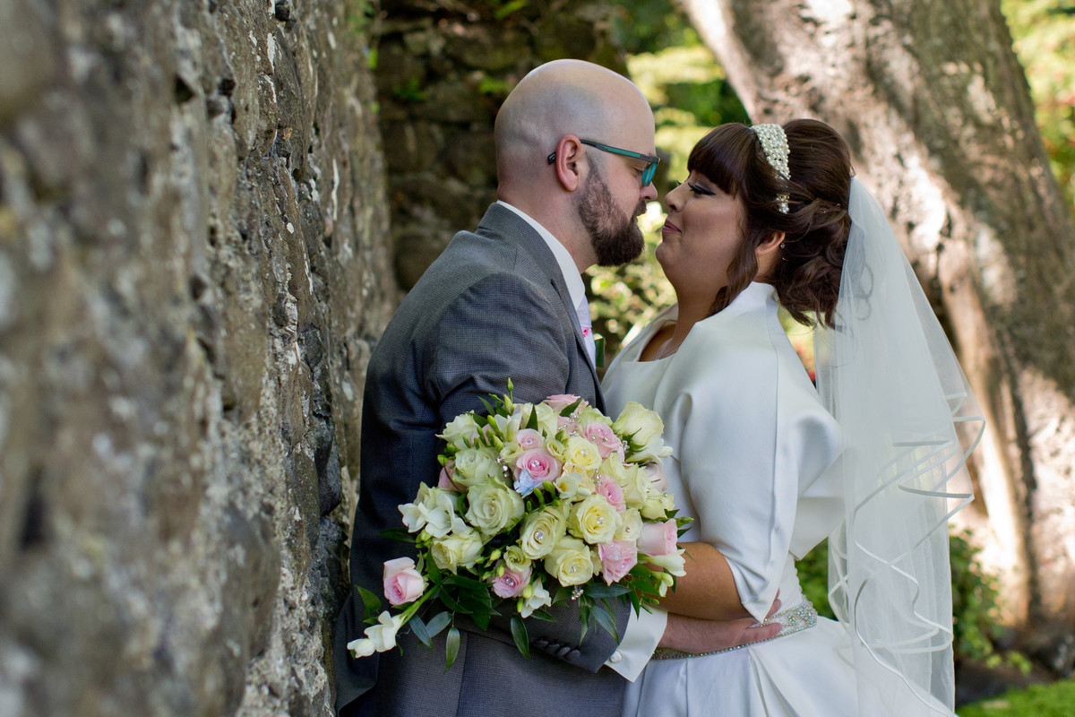 wedding in Ballygalley castle
