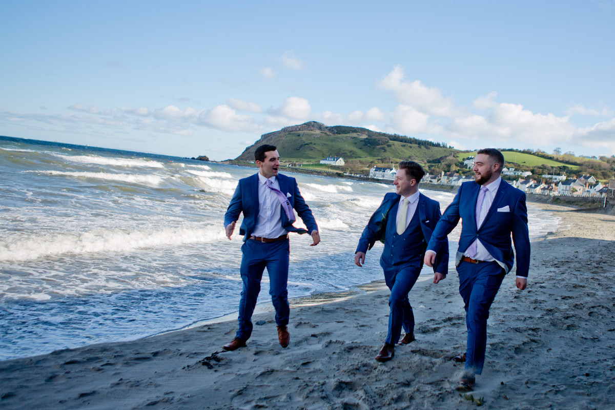 wedding photographer ballygally castle