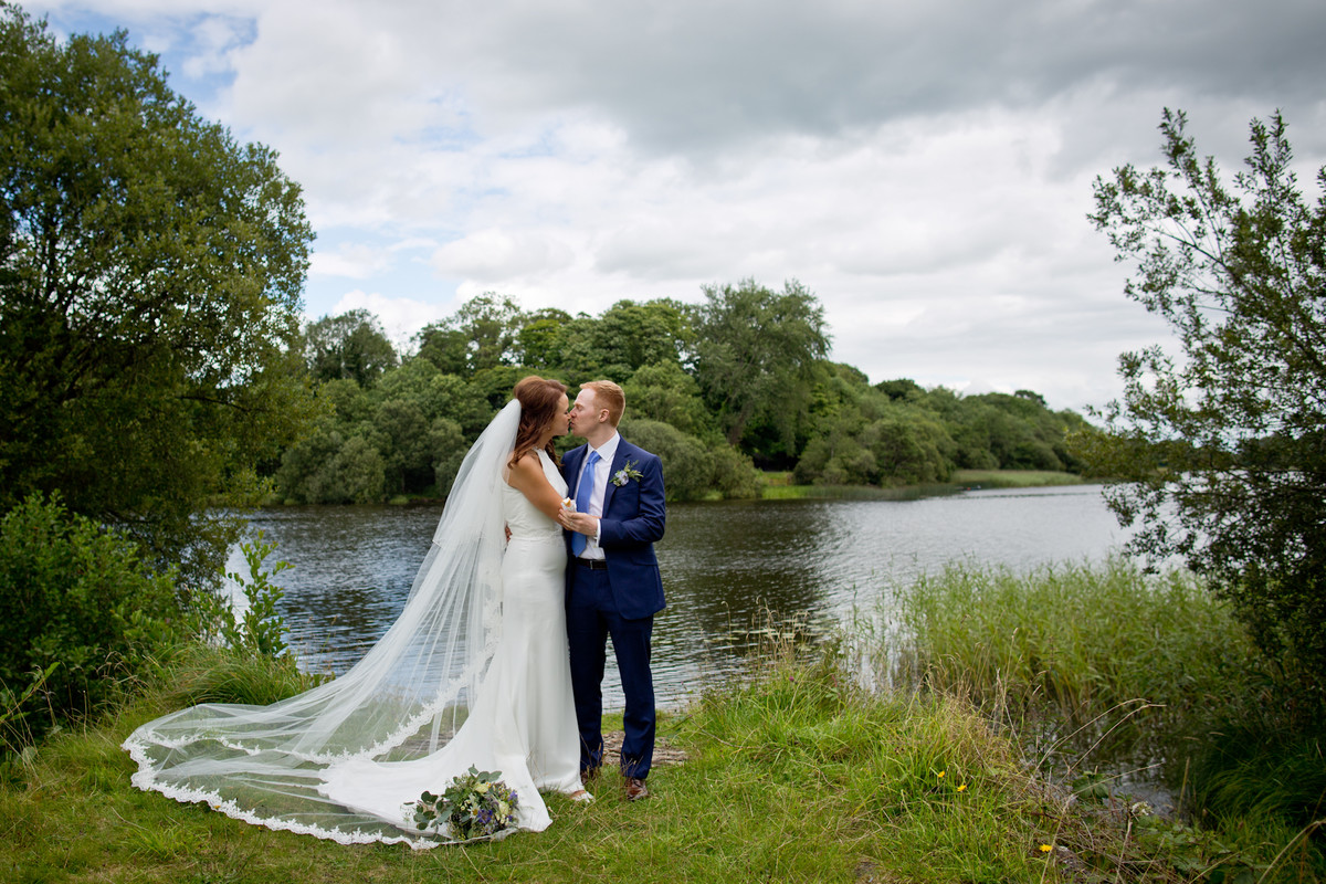 wedding photography lough erne , and crom church