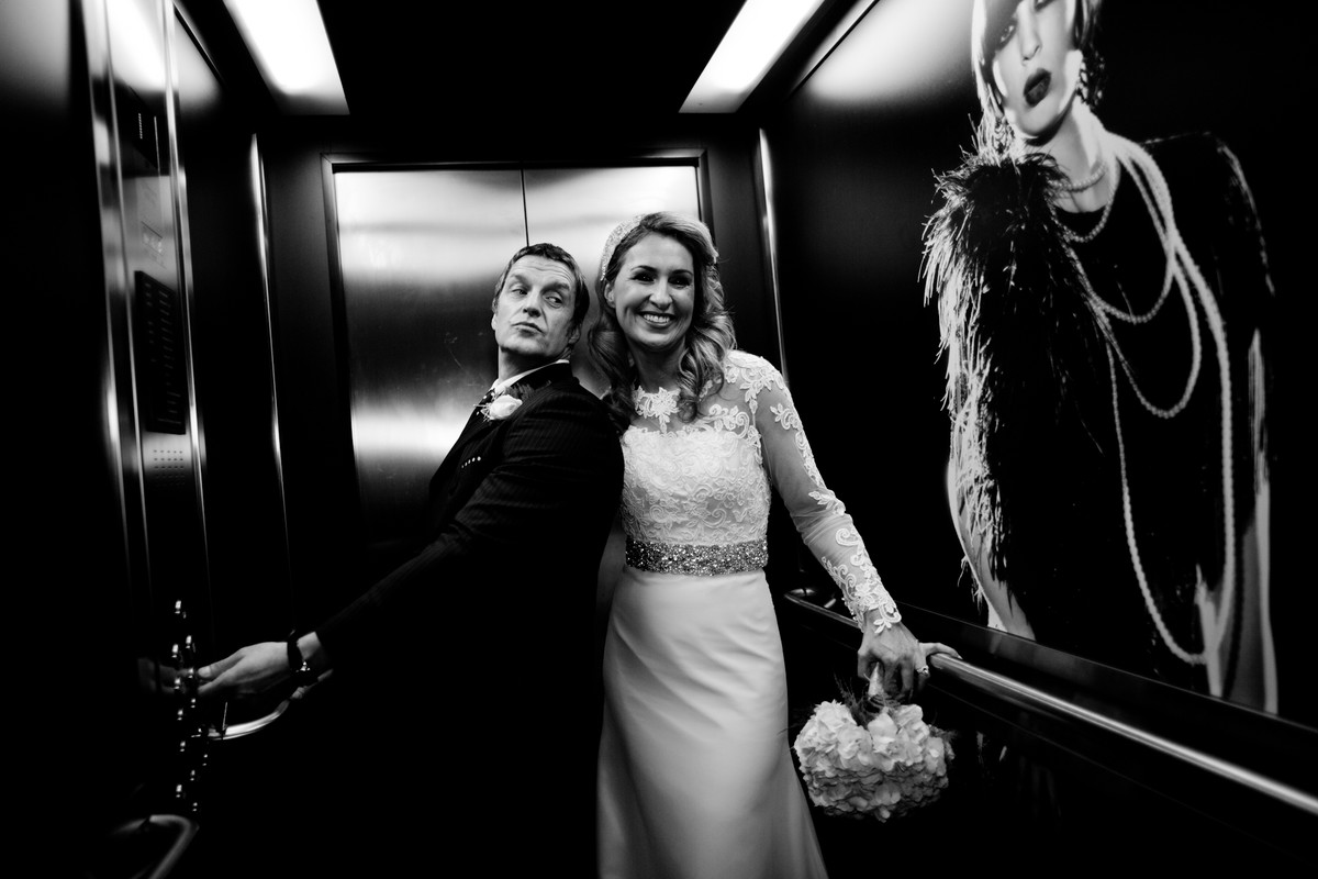 wedding photography at th Merchant Hotel , Belfast